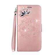 お買い得  携帯電話ケース-ケース 用途 Huawei P smart / Enjoy 7S カードホルダー / スタンド付き / フリップ フルボディーケース 曼荼羅 ハード PUレザー のために P smart / Huawei Enjoy 7S