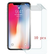 Screen Protector for Apple iPhone X Tempered Glass 10 pcs Front Screen Protector 9H Hardness / Scratch Proof