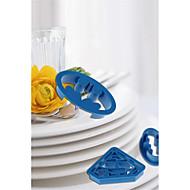お買い得  キッチン用小物-ベークツール プラスチック DIY パン / 調理器具のための / ケーキのための ケーキ型 4本
