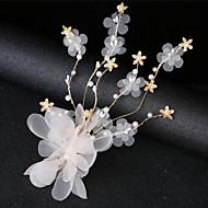 billige Smykker & Ure-Dame Simple / Koreansk Hårclips Lace Trim, Blomstret