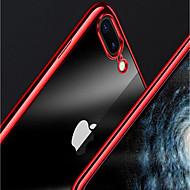 Недорогие Кейсы для iPhone 8 Plus-Кейс для Назначение Apple iPhone X / iPhone 8 Plus Покрытие / Прозрачный Кейс на заднюю панель Однотонный Мягкий ТПУ для iPhone X / iPhone 8 Pluss / iPhone 8
