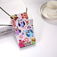 Недорогие Чехлы и кейсы для Galaxy S7 Edge-Кейс для Назначение SSamsung Galaxy S9 Plus / S9 Кошелек / со стендом / Флип Чехол Сова Твердый Кожа PU для S9 / S9 Plus / S8 Plus