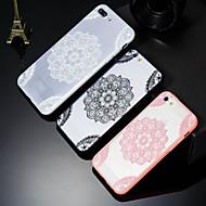 Недорогие Кейсы для iPhone 8-Кейс для Назначение Apple iPhone X / iPhone 8 Plus С узором Кейс на заднюю панель Мандала Твердый ПК для iPhone X / iPhone 8 Pluss / iPhone 8