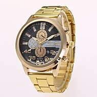 cheap -Men's Dress Watch / Wrist Watch Chinese New Design / Casual Watch Alloy Band Casual / Fashion Gold