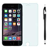 Недорогие Защитные плёнки для экранов iPhone 8 Plus-Защитная плёнка для экрана для Apple iPhone 8 Pluss / iPhone 7 Plus Закаленное стекло 1 ед. Защитная пленка для экрана / Протектор объектива спереди и камеры HD / Уровень защиты 9H