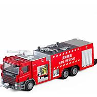 abordables Coches y miniaturas de juguete-Coches de juguete Camión de bomberos Camiones de Bomberos Nuevo diseño Aleación de Metal Todo Niño / Adolescente Regalo 1 pcs