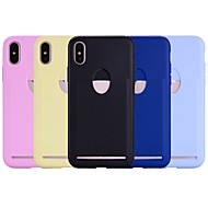 cheap -Case For Apple iPhone X / iPhone 8 Plus Card Holder Back Cover Solid Colored Soft TPU for iPhone X / iPhone 8 Plus / iPhone 8