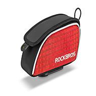 お買い得  -ROCKBROS 防水ドライバッグ / バックパック 防水, 携帯用, ライトウェイト 自転車用バッグ オックスフォード / ポリエステル / メッシュ 自転車用バッグ サイクリングバッグ サイクリング / フリーサイズ 携帯電話 / 他の同様のサイズの携帯電話 戸外運動 / バイク / トライアスロン