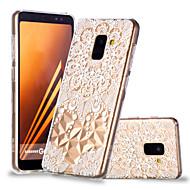 Недорогие Чехлы и кейсы для Galaxy А-Кейс для Назначение SSamsung Galaxy A8 Plus 2018 / A8 2018 С узором Кейс на заднюю панель Мандала Мягкий ТПУ для A6 (2018) / A6+ (2018) / A8 2018