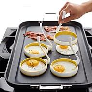 お買い得  キッチン用品 & 小物-2pcs キッチンツール ナイロン 最高品質 クリエイティブキッチンガジェット DIY DIYの金型 DIYツール 卵のための