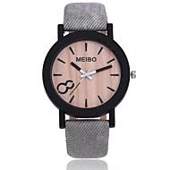 abordables Relojes Formales-Hombre / Mujer Reloj de Vestir / Reloj de Pulsera Chino Nuevo diseño / Reloj Casual PU Banda Casual / Moda Negro / Marrón / Gris
