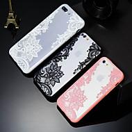 Недорогие Кейсы для iPhone 8 Plus-Кейс для Назначение Apple iPhone X / iPhone 8 Plus С узором Кейс на заднюю панель Кружева Печать Твердый ПК для iPhone X / iPhone 8 Pluss / iPhone 8