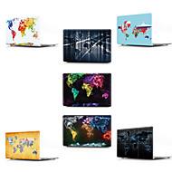 """お買い得  MacBook 用ケース/バッグ/スリーブ-MacBook ケース マップ / 3Dカトゥーン PVC のために 新MacBook Pro 13"""" / MacBook Air 13インチ / MacBook 12''"""