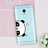 お買い得  携帯電話ケース-ケース 用途 Xiaomi Mi 6 / Mi 5s パターン バックカバー 動物 ソフト TPU のために Xiaomi Redmi Note 4 / Xiaomi Redmi Note 3 / Xiaomi Redmi 4A