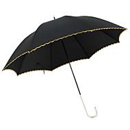 Недорогие Защита от дождя-пластик Все Солнечный и дождливой / Ветроустойчивый Складные зонты