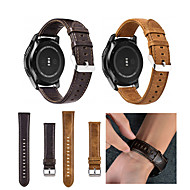 cheap Watch Bands for Garmin-Watch Band for Vivomove / Vivomove HR / Vivoactive 3 Garmin Sport Band Genuine Leather Wrist Strap