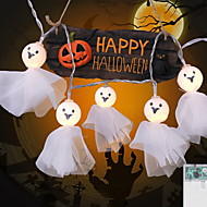 cheap -2.5m String Lights 20 LEDs Warm White / White / Multi Color Decorative / Cool AA Batteries Powered