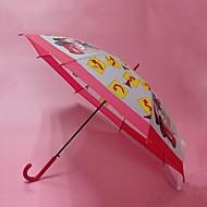 Недорогие Защита от дождя-пластик / Нержавеющая сталь Мальчики / Девочки Солнечный и дождливой Зонт-трость
