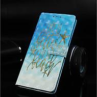 Недорогие Кейсы для iPhone 8 Plus-Кейс для Назначение Apple iPhone XR / iPhone XS Max Кошелек / Бумажник для карт / со стендом Чехол Слова / выражения Твердый Кожа PU для iPhone XS / iPhone XR / iPhone XS Max