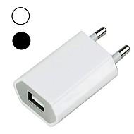 お買い得  iPod 用チャージャー-ポータブルチャージャー USB充電器 EUプラグ QC 3.0 USBポート×1 1 A 100~240 V のために ユニバーサル