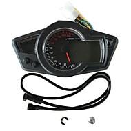 abordables Piezas de Moto y de Quad-C-0015 Motocicleta Cuentakilómetros / Medidor de aceite / Velocímetro para motocicletas Todos los Años Calibre Taquímetro