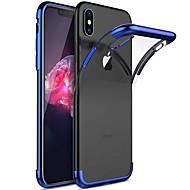 Etui Til Apple iPhone XR / iPhone XS Max Belægning / Transparent Bagcover Ensfarvet Blødt TPU for iPhone XS / iPhone XR / iPhone XS Max