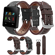 Недорогие Аксессуары для смарт-часов-Ремешок для часов для Vivoactive Garmin Кожаный ремешок Кожа / Натуральная кожа Повязка на запястье