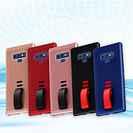 Недорогие Чехлы и кейсы для Galaxy Note-Кейс для Назначение SSamsung Galaxy Note 9 Матовое Кейс на заднюю панель Однотонный Твердый ПК для Note 9