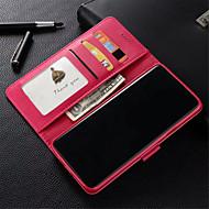 Недорогие Чехлы и кейсы для Galaxy S7-CaseMe Кейс для Назначение SSamsung Galaxy S9 Plus / S9 Бумажник для карт / Защита от удара / Флип Чехол Однотонный Твердый Кожа PU для S9 / S9 Plus / S8 Plus