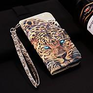 Недорогие Чехлы и кейсы для Galaxy Note-Кейс для Назначение SSamsung Galaxy Note 9 Кошелек / Бумажник для карт / со стендом Чехол Животное Твердый Кожа PU для Note 9