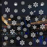 abordables Tissus de Maison-Film de fenêtre et autocollants Décoration Noël Vacances PVC Autocollant de Fenêtre