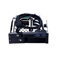 abordables Fundas de Disco Duro-Unestech Recinto del disco duro Indicador LED / Compatible HDD / Conecte y Utilice Acero Inoxidable / Aleación de aluminio y magnesio USB 3.0 ST7224UB