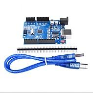 お買い得  Arduino 用アクセサリー-arduino atmega328pのための高品質の互換性のあるuno r3開発ボード