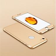 Недорогие Чехлы и кейсы для Galaxy А-Кейс для Назначение Apple iPhone 6 / iPhone 6s Покрытие Кейс на заднюю панель Однотонный Твердый ПК для iPhone 6s / iPhone 6