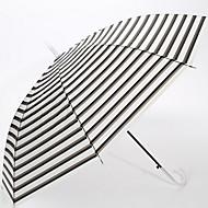 abordables Accesorios para la Lluvia-Tejido / Acero Inoxidable Todo Soleado y lluvioso Paraguas Recto