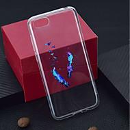 preiswerte Handyhüllen-Hülle Für Huawei Y9 (2018)(Enjoy 8 Plus) / Y6 (2017)(Nova Young) Transparent / Muster Rückseite Feder Weich TPU für Y9 (2018)(Enjoy 8 Plus) / Huawei Y6 (2017)(Nova Young) / Huawei Y5 (2018)