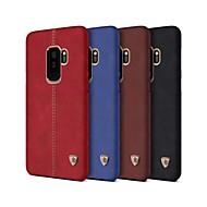 Недорогие Чехлы и кейсы для Galaxy Note-Кейс для Назначение SSamsung Galaxy Note 9 Защита от удара Кейс на заднюю панель Однотонный Твердый Кожа PU для Note 9