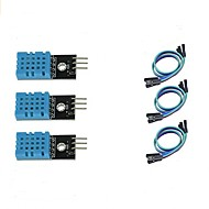 cheap -3pcs DHT11 Temperature and Humidity Sensor Module for Arduino Raspberry Pi 2 3