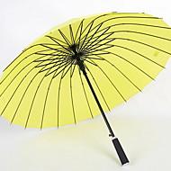 abordables Accesorios para la Lluvia-Acero Inoxidable Todo Soleado y lluvioso / Nuevo diseño Paraguas Recto