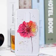 Недорогие Чехлы и кейсы для Galaxy S7-Кейс для Назначение SSamsung Galaxy S9 Plus / S9 Прозрачный / С узором Кейс на заднюю панель Цветы Мягкий ТПУ для S9 / S9 Plus / S8 Plus