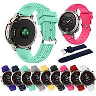 Недорогие Аксессуары для смарт-часов-Ремешок для часов для Fenix Chronos Garmin Спортивный ремешок силиконовый Повязка на запястье