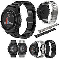 Недорогие Аксессуары для смарт-часов-Ремешок для часов для Fenix 3 Garmin Классическая застежка Стали / Металл Повязка на запястье