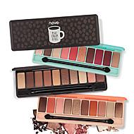お買い得  -Make-up For You 10色 アイシャドウ アイシャドウ クルエルティーフリー / ホルムアルデヒドフリー / Pro グリッターリップグロス カバレッジ 長持続性 デイリーメイク / ハロウィンメイク / パーティーメイク 化粧 化粧品