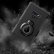 Недорогие Чехлы и кейсы для Galaxy Note 8-Кейс для Назначение SSamsung Galaxy Note 9 / Note 8 Защита от удара / со стендом / Кольца-держатели Кейс на заднюю панель Плитка / броня Твердый ПК для Note 9 / Note 8