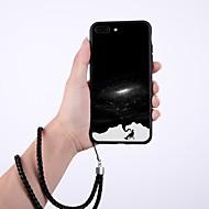 Недорогие Кейсы для iPhone 8-Кейс для Назначение Apple iPhone X / iPhone 8 Plus Защита от пыли Кейс на заднюю панель Мультипликация Твердый Закаленное стекло для iPhone X / iPhone 8 Pluss / iPhone 8