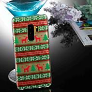 Недорогие Чехлы и кейсы для Galaxy S8-Кейс для Назначение SSamsung Galaxy S9 Plus / S8 Прозрачный / С узором Кейс на заднюю панель Животное / Рождество Мягкий ТПУ для S9 / S9 Plus / S8 Plus