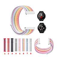 Недорогие Аксессуары для смарт-часов-Ремешок для часов для Huami Amazfit A1602 Xiaomi Спортивный ремешок Нейлон Повязка на запястье