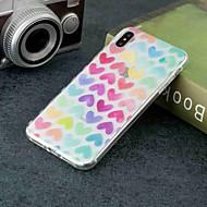 Coque Pour Apple iPhone XR / iPhone XS Max Transparente / Motif Coque Cœur Flexible TPU pour iPhone XS / iPhone XR / iPhone XS Max