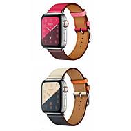 Παρακολουθήστε Band για Apple Watch Series 4/3/2/1 Apple Δερμάτινη Πλέξη Γνήσιο δέρμα Λουράκι Καρπού