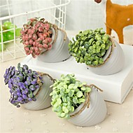cheap -Artificial Flowers 1 Branch Classic / Single Simple Style / Modern Plants / Vase Tabletop Flower